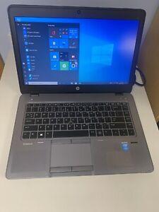 Fully Working Hp Elitebook 840 G1 Intel I5 5th gen 8gbRam Ssd Win10 1Yr Warranty