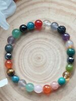 WEIGHT LOSS SUPPORT & APPETITE SUPPRESSANT - CRYSTAL HEALING GEMSTONE BRACELET
