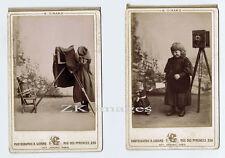 POUPEE APPAREIL PHOTOGRAPHIE 2 Photos Jouet Fille 1892