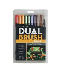 TOMBOW ABT Dual Brush Pens Art Markers, Secondary Palette, #56168