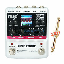NUX TIME FORCE TAP Tempo 11 Delay Model Digital Electric Guitar Effect Pedal