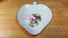 Vintage Strawberry Shortcake Porcelain Strawberry Shaped Trinket Pin Dish