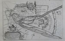 Liège 1706 plan de ville