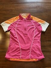 Womens Cannondale Cycling Jersey Size Medium  Pink