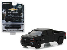 1/64 Greenlight 2018 Chevrolet Silverado 1500 Midnight Edition Diecast 29941