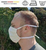 Baumwollemaske Mund Nase Maske Atem Wiederverwendbar Waschbar 60 Grade