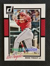 2014 DONRUSS PRESS PROOF MIKE TROUT #ED 115/199