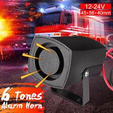 Universal 12-24V Mini Alarm Horn Siren Sound Alarm Security System Warning US