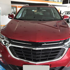 For Chevrolet Equinox 2018-20 ABS Chrome Front Engine Hood Grille Cover Lid Trim