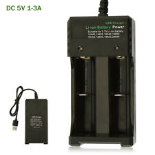 Smart Battery Charger for 18650 Rechargeable Li-Ion Battery USB Port Universal