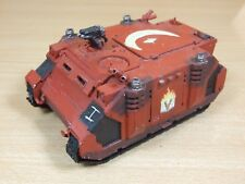 Warhammer palabra portadores Rhino pintado de plástico (L)