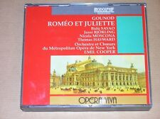 2 CD / EDITION RARE / ROMEO ET JULIETTE / GOUNOD / EMIL COOPER / EXCELLENT ETAT