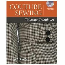Couture Sewing Tailoring Techniques by Claire Shaeffer (2013, Mixed media...