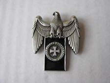 WH Croce di ferro Spilla Aquila Imperiale corona alloro Wehrmacht WXX WW2 WWII