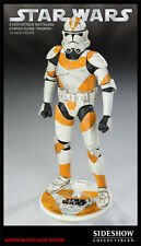 "Star Wars 212 Attack Battalion Utapau Clone Trooper 12"" Sideshow Exclusive USED"