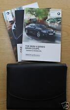 BMW serie 4 Gran Coupe F36 Manual Manual del propietario cartera 2014-2016 Pack #1047