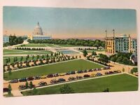 hotel continental capitol plaza washington DC vintage Postcard A15