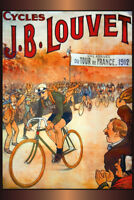 Tour de France 1912 Blechschild Schild gewölbt Metal Tin Sign 20 x 30 cm