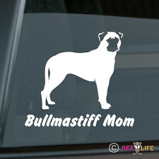 Bullmastiff Mom Sticker Die Cut Vinyl - Bull Mastiff Dog