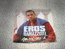EROS RAMAZZOTTI 45 TOURS GERMANY MUSICA E