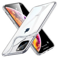 For iPhone 11 Pro Max/ X XR XS Max 8 7 6S Plus Soft Clear TPU Back Case Cover-WI