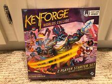 Keyforge Worlds Collide 2-Player Starter Set NEW, Sealed
