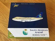 SAUDI ARABIAN Boeing SP 747SP RARE Gemini Jets Model 1:400 GJSVA1639 Reg HZ-HMIB