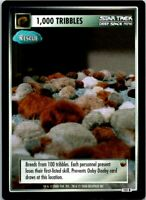 Star Trek The Trouble With Tribbles CCG Rare Card #131R 1,000 Tribbles