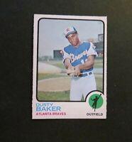 1973 OPC O-Pee-Chee #215 Dusty Baker - Braves