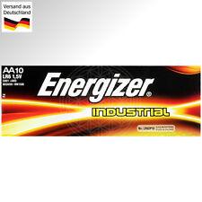 20 Energizer Industrial AA Mignon Batterien LR6 AM3 1,5V MN1500 4006 EN91 Stilo