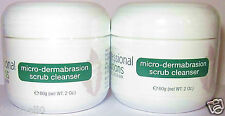X2 HYALURONIC ACID MICRO DERMABRASION SCRUB CLEANSER FOR ACNE & PROBLEM SKIN 2oz
