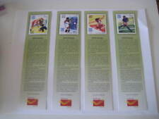 India 2004 Set of 4 Bookmarks on Olympics held in Athens - Limited Edition!!!