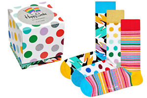 Happy Socks - Mixed Pride Socks Gift Set - Box - 3er Pack