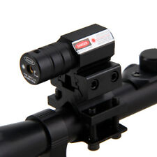 4X20 Caza Telescópico Scope Montar for .22 caliber Rifles & rojo láser Vista
