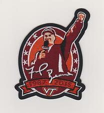 VIRGINIA TECH HOKIES COACH FRANK BEAMER RETIREMENT PATCH