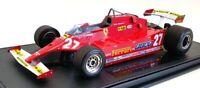 GP Replicas 1/18 Scale GP76A - Ferrari 126 CX 1981 #27 Gilles Villeneuve