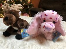 WEBKINZ Lot 2 Pc NEW SEALED CODES Love Puppy & Reindeer New With tags