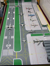 1/400 Accessories Large Airport basic set Ground Foil A