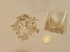 Natural Mine Run Rock Quartz Crystal Chips Small Needle Matchstick Quartz Pieces