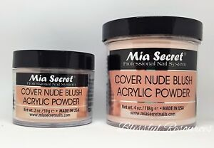 Mia Secret COVER NUDE BLUSH Acrylic Powder 2oz OR 4oz