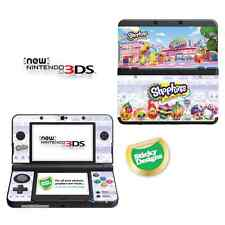 Shopkins VINILE aderente Adesivo per NUOVO Nintendo 3DS (CON C)