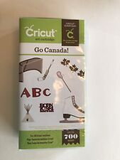 Brand New Go Canada Cricut Cartridge--Hard to find—Never Used
