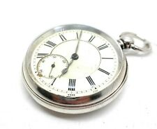 A Silver Cased Fusee 1887 H Bedelstein of Manchester Pocket watch