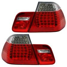 LED Rückleuchten Heckleuchten BMW 3er E46 Limo Bj. 01-05 Rot/Chrom