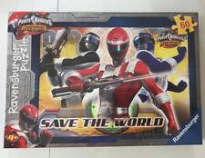 Ravensburger, 60 piece, Power Rangers, Save the World Jigsaw, age 4 plus