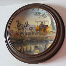 "Knowles collector's plate ""The Surrey with the Fringe on Top""~Oklahoma! 1985"