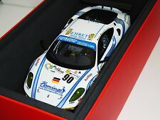 FERRARI F430 GT2 #90 LE MANS 2008 FARNBACHER RACING BBR P1840A 1/60 1:18
