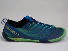 MERRELL Vapor Glove 2 Racer Blue Minimalist Trail Running Sneakers Men's sz 12