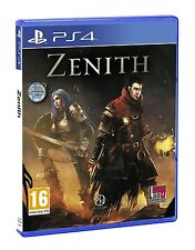 Zenith w/ Poster and Extended Manual [PlayStation 4 PS4, Region Free, RPG] NEW