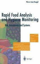 Rapid Food Analysis and Hygiene Monitoring : Kits, Instruments and Systems by...